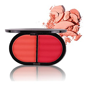 cheap Blush-4 Colors Makeup Set Pressed powder Blush Dry / Combination / Oily Long Lasting Blush China Makeup Cosmetic