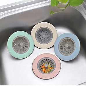 cheap Kitchen Utensils & Gadgets-Silicone Kitchen Sink Strainer TPR Bathroom Shower Drain Cover Colander