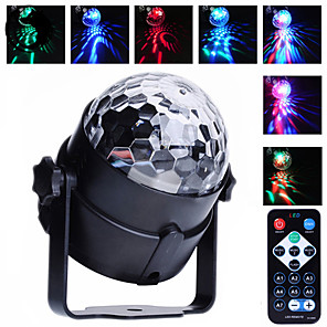 cheap RC Drone Quadcopters & Multi-Rotors-U'King Disco Lights Party Light LED Stage Light / Spot Light Sound-Activated / Auto / Remote Control Outdoor / Party / Stage Professional Multi Color for Dance Party Wedding DJ Disco Show Lighting