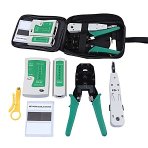 cheap Mobile Signal Boosters-Network Combination Tool Set Network Tool Set 5 Sets Tools