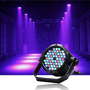 cheap Portable Speakers-U'King Disco Lights Party Light LED Stage Light / Spot Light / LED Par Lights Auto 200 W Party / Stage / Wedding Professional White Red Blue for Dance Party Wedding DJ Disco Show Lighting