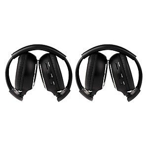 cheap Car Rear View Camera-Headband Wired Headphones Dynamic Plastic Mobile Phone Earphone with Microphone / with Volume Control Headset