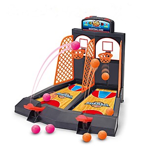 cheap Building Blocks-Board Game Mini Finger Basketball Shooting Game Basketball Hoop Basketball Hoop Set Portable Professional Focus Toy Relieves ADD, ADHD, Anxiety, Autism Adjustable Fun Classic Theme Indoor Plastics 3