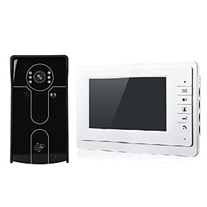 cheap Video Door Phone Systems-XSL-V70F Wired 7 inch Hands-free 800*480 One to One video doorphone