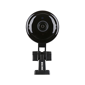 cheap Indoor IP Network Cameras-ESCAM Q6 Mini H.265 1080P AI Humanoid Detection Night VIsion WiFi Camera Support to 128GB TF Card  Audio