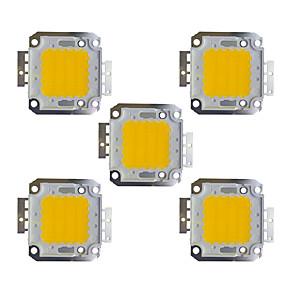 cheap LED Spot Lights-5pcs 2400 lm Bulb Accessory Brass LED Chip 30 W