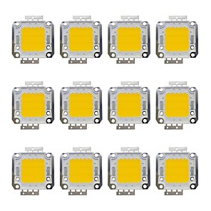 cheap LED Strip Lights-12pcs 1600 lm Bulb Accessory Brass LED Chip 20 W