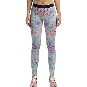 cheap Historical & Vintage Costumes-Women's Running Tights Leggings Sports & Outdoor Tights Leggings Cotton Yoga Fitness Gym Workout Exercise Butt Lift Quick Dry Sport Black