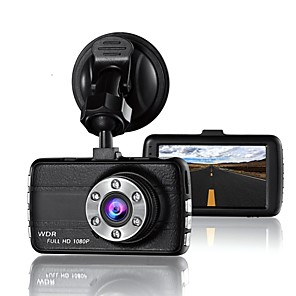cheap Car DVR-T660 Small Eye Dash Cam Camera DVR 170 degree 3.0 LCD Car for Drivers Full HD 1080 P Recorder Camera with Night Vision G-Sensor
