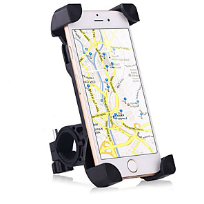cheap Phone Mounts & Holders-Motorcycle / Bike Mobile Phone Mount Stand Holder Adjustable Stand Mobile Phone Buckle Type / Slip Resistant Silicone Holder