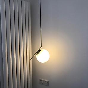 cheap Spot Lights-1-Light 20 cm Metal Glass Modern 110-120V / 220-240V