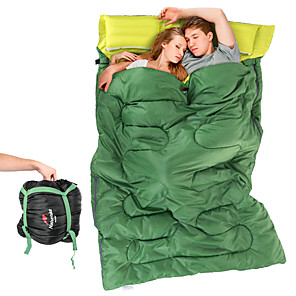 cheap Sleeping Bags & Camp Bedding-Naturehike Sleeping Bag Outdoor Camping Double Wide Bag 8 °C Double Size Hollow Cotton Travel Rest Autumn / Fall Spring Summer for Camping / Hiking Outdoor Sleeping Bags Camping & Hiking Outdoor