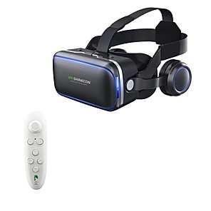 cheap USB Hubs & Switches-VR SHINECON 6.0 Virtual Reality 120 FOV 3D Glasses with Headset Stereo Box for Smartphone