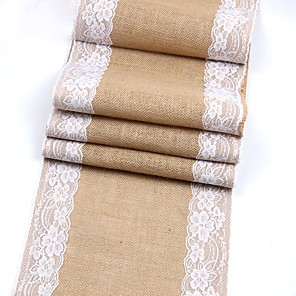 cheap Wedding Decorations-Jute Wedding Decorations Wedding / Party / Evening Floral Theme / Classic Theme / Vintage Theme All Seasons
