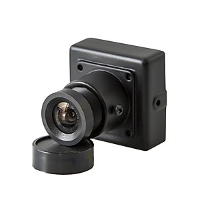 cheap CCTV Cameras-HQCAM® 1/3 CCD 480TVL Color 3.6MM LENS 90° Viewing Angle Mini CCD Camera PAL NTSC Indoor Simulated CameraCCTV Security PAL 1/50s-1/100,000s, NTSC 1/60s-1/100,000s