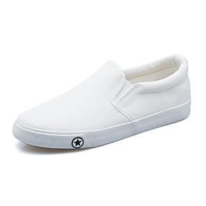 aea563ec41243 Mujer Zapatos Tela Primavera   Otoño Confort Zapatos de taco bajo y Slip-On  Tacón