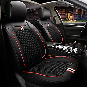 Car Seat Covers Seat Covers Textile Artificial Leather For Universal All  Years All Models
