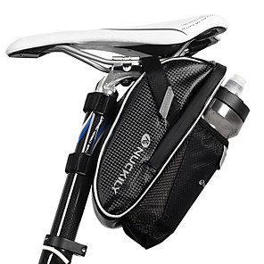 cheap Bike Frame Bags-Nuckily Bike Saddle Bag Reflective Cycling for Black Cycling / Bike / Waterproof Zipper