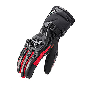cheap Car Rear View Camera-SUOMY WP-02 Waterproof Motorcycle Gloves Winter Touchscreen Gloves Winter Warm Windproof For Motorcycle Cycling Skiing Skateboard