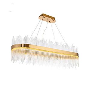 cheap Candle-Style Design-1-Light QIHengZhaoMing 35 cm Crystal / Eye Protection Chandelier Crystal Electroplated LED / Chic & Modern 110-120V / 220-240V