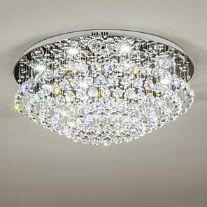 cheap LED String Lights-8-Light 70 cm Crystal / Bulb Included / Designers Chandelier Metal Electroplated Chic & Modern 110-120V / 220-240V