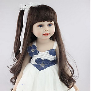 cheap Reborn Doll-NPKCOLLECTION 18 inch NPK DOLL Reborn Doll Girl Doll Baby Girl Newborn lifelike Cute Child Safe Non Toxic Silicone with Clothes and Accessories for Girls' Birthday and Festival Gifts