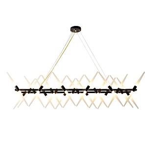 cheap Pendant Lights-ZHISHU 120 cm Adjustable Chandelier Metal Painted Finishes Nature Inspired / Chic & Modern 110-120V / 220-240V