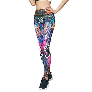 cheap Party Sashes-Women's High Waist Yoga Pants Leggings Zumba Yoga Pilates Sports Activewear
