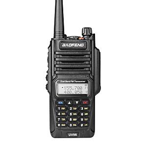 halpa Radiopuhelimet-baofeng uv-9r handheld ip7 vedenpitävä kaksikaistainen radiopuhelin kaksisuuntainen radiopuhelin, laaja valikoima yhteensopiva taajuus kannettava kaksoiskaista