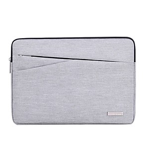 "cheap Sleeves,Cases & Covers-13.3"" 14"" 15.6"" Nylon Solid Colored Laptop Bag Polyester for Macbook/Surface/HP/Dell/Samsung/Sony Etc"