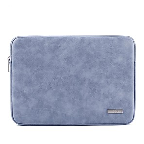 """cheap Sleeves,Cases & Covers-13.3"""" 14"""" 15.6"""" PU Leather Solid Colored Laptop Bag for Macbook/Surface/HP/Dell/Samsung/Sony Etc"""