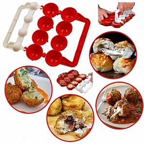 cheap Bakeware-Premiumbie Meatballs Maker Useful Pattie Meatball Fish Ball Burger Set DIY