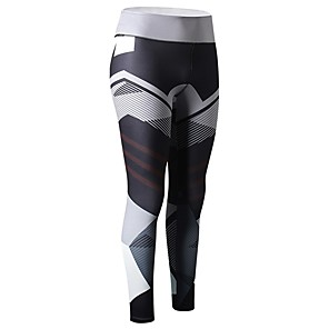 cheap Party Sashes-Women's Running Tights Leggings Compression Pants Sports & Outdoor Pants / Trousers Compression Clothing Leggings Gym Workout Exercise & Fitness Quick Dry Breathability Sport Black Blue Grey Rose Red