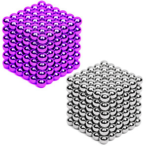 cheap Portable Speakers-2*216/2*432 pcs 3mm Magnet Toy Magnetic Balls Building Blocks Super Strong Rare-Earth Magnets Neodymium Magnet Neodymium Magnet 2 colors and 216 pcs for each color Stress and Anxiety Relief Office