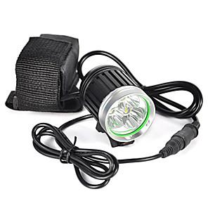 cheap Flashlights & Camping Lanterns-6000 lm Headlamps / Headlight LED 1 Mode Professional / Wearproof / Lightweight