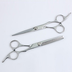 cheap Tools & Accessories-Scissors Stainless Steel Accessory Kits scissors Women / Pro 1pcs Daily New Silver