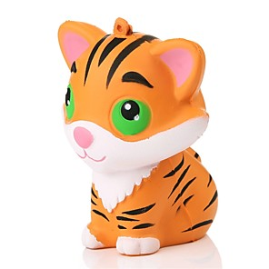 cheap RC Cars-Squishy Squishies Squishy Toy Squeeze Toy / Sensory Toy Jumbo Squishies Stress Reliever Tiger Animal Animals Stress and Anxiety Relief Super Soft Slow Rising For Kid's Adults' Boys' Girls' Gift Party