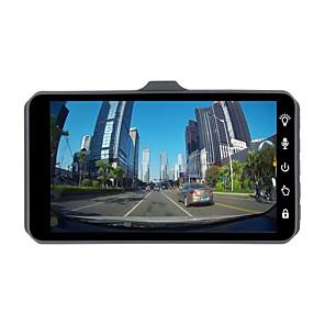 cheap Car DVR-ZIQIAO JL-A6T 1080P Full HD Dual Lens Car DVR Camera Night Vision Video Recorder Parking Monitor