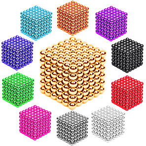 cheap Portable Speakers-216 pcs 3mm Magnet Toy Magnetic Balls Building Blocks Super Strong Rare-Earth Magnets Neodymium Magnet Neodymium Magnet Stress and Anxiety Relief Office Desk Toys DIY Adults' Unisex Boys' Girls' Toy