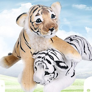 cheap Stuffed Animals-Pillow Simulation Plush Toy Plush Dolls Stuffed Animal Plush Toy Tiger Lovely Comfy 40cm Imaginative Play, Stocking, Great Birthday Gifts Party Favor Supplies Boys and Girls Adults Kids
