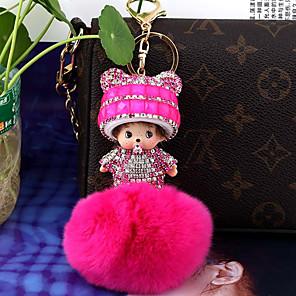 povoljno Svadbeni privjesci za ključeve-Moda Privjesak favorizira Kristal / Rabbit Hair Poklon privjesci - 1 pcs Sva doba