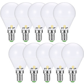 cheap Indoor Wall Lights-EXUP® 10pcs 7 W 680 lm E14 / E26 / E27 LED Globe Bulbs G45 6 LED Beads SMD 2835 Decorative Warm White / Cold White 220-240 V / 110-130 V / 10 pcs / RoHS / CCC / ERP / LVD