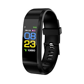 cheap Smartwatches-KL115 Wristband BT Fitness Tracker Support Notify/Heart Rate Monitor Waterproof Sport Bluetooth Smartwatch for IOS/Android OS Phones