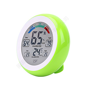 cheap Testers & Detectors-Touch Screen Digital Temperature Humidity Thermometer Hygrometer Temperature Humidity Sensor Platform ThermometerforHome