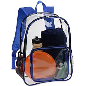 cheap Backpacks & Bags-10 L Hiking Backpack Rain Waterproof Outdoor Hiking Travel School Transparent