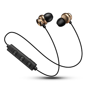 cheap Sports Headphones-Neckband Headphone Bluetooth 4.2 V4.2 Stereo with Volume Control Sport Fitness