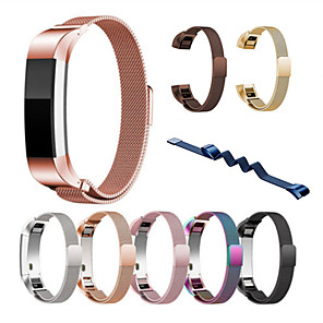 cheap Sports Headphones-Watch Band for Fitbit Alta HR Fitbit Alta Fitbit Milanese Loop Stainless Steel Wrist Strap