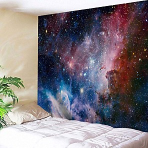 cheap Wall Tapestries-Wall Tapestry Art Decor Blanket Curtain Picnic Tablecloth Hanging Home Bedroom Living Room Dorm Decoration Fantasy Galaxy Star Moon Sun
