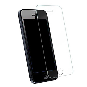 cheap iPhone Screen Protectors-Screen Protector for Apple iPhone SE / 5s / iPhone 5 Tempered Glass 1 pc Front Screen Protector Explosion Proof