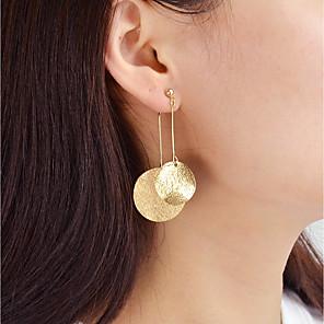 povoljno Modne naušnice-Viseće naušnice dame Moda Naušnice Jewelry Zlato / Srebro Za Dnevno Spoj
